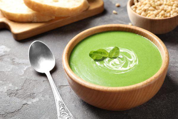 hrana za oči: špinačna juha
